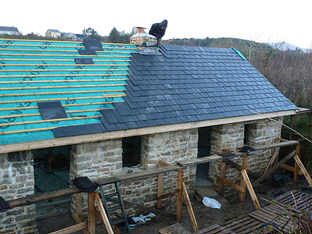 roofing in December in Ireland