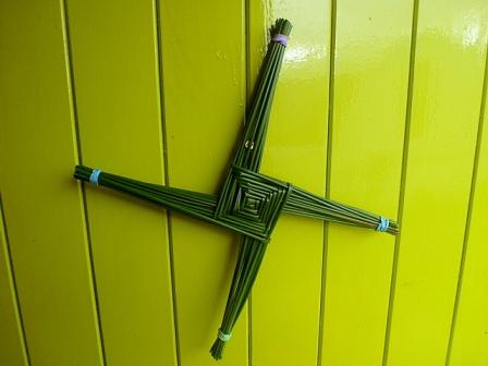 Imbolc cross