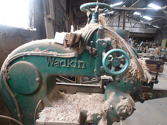 Wadkin frame cutter