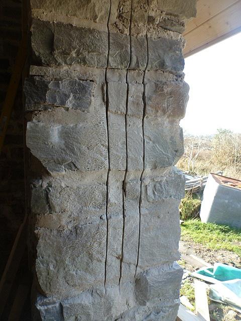 cut for door frame