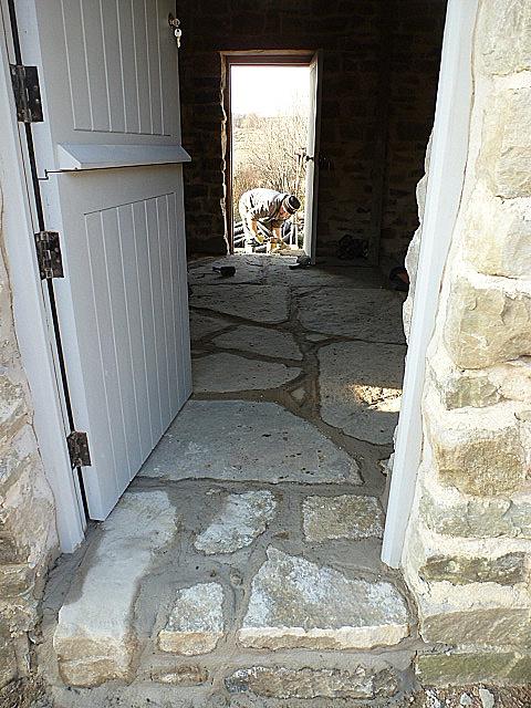 S/E door step