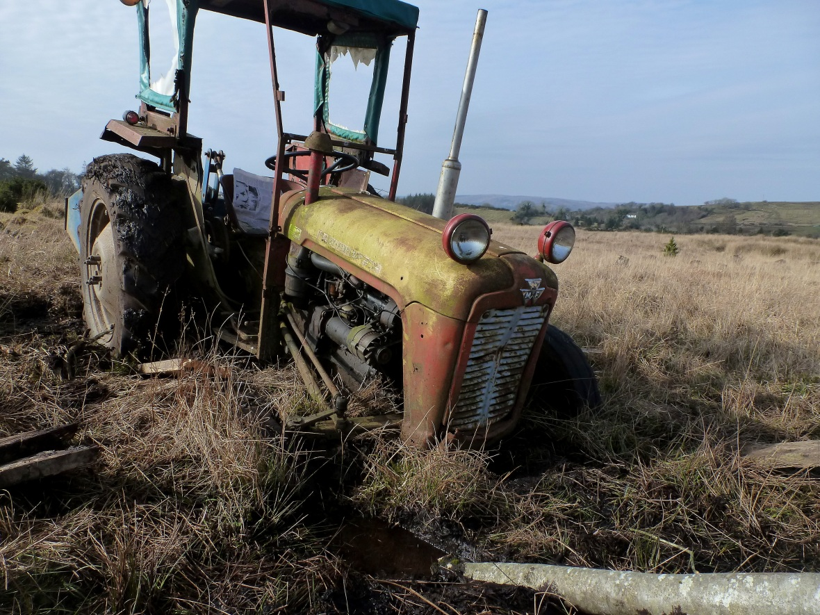 Eamonn's tractor
