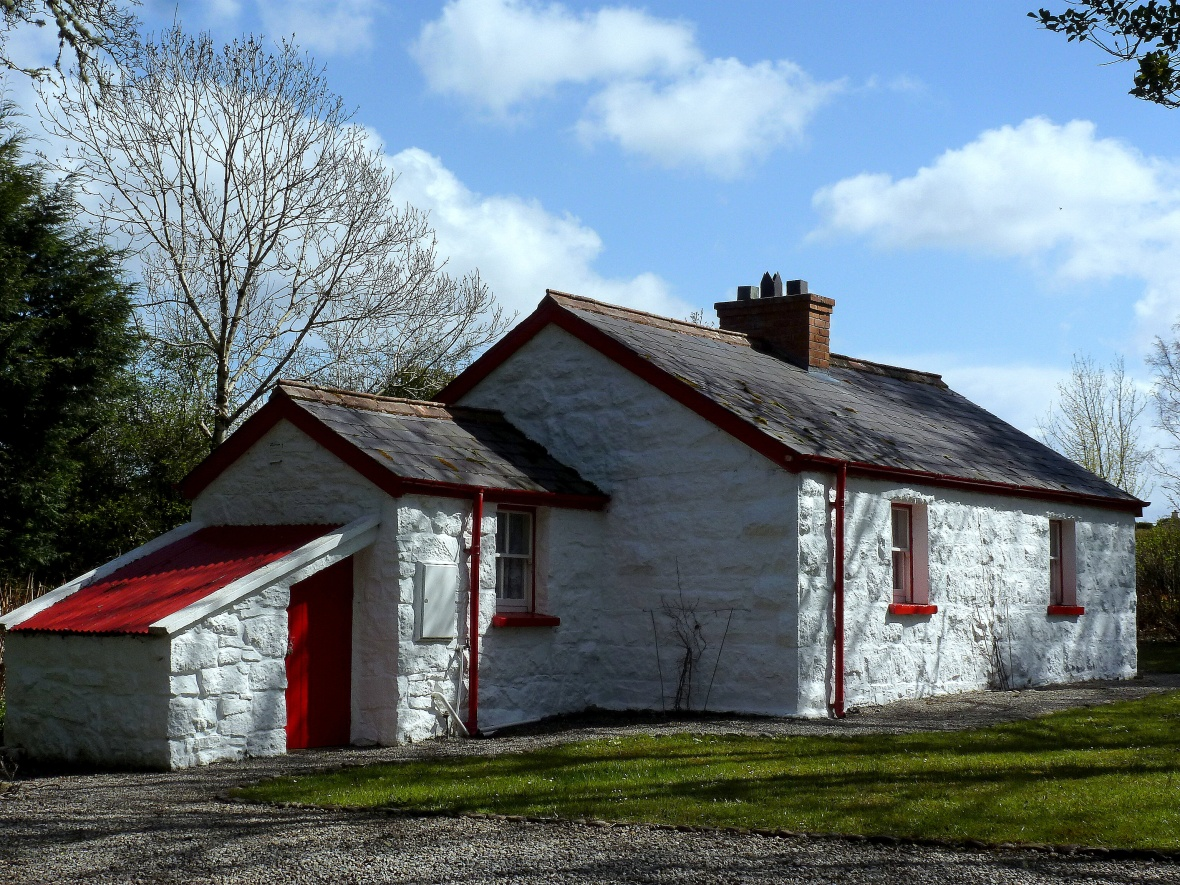 Donegal Rail Crossing Cottage