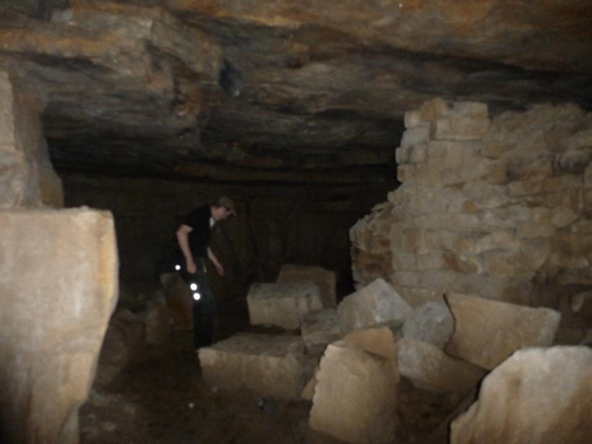 inside Drumkeelan mines