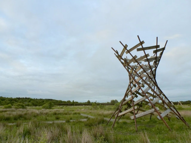 Lough Boora Sculpture by Dave Kinane