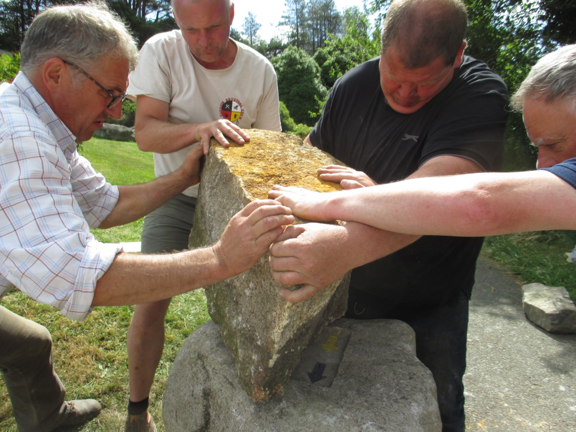 stone manouver