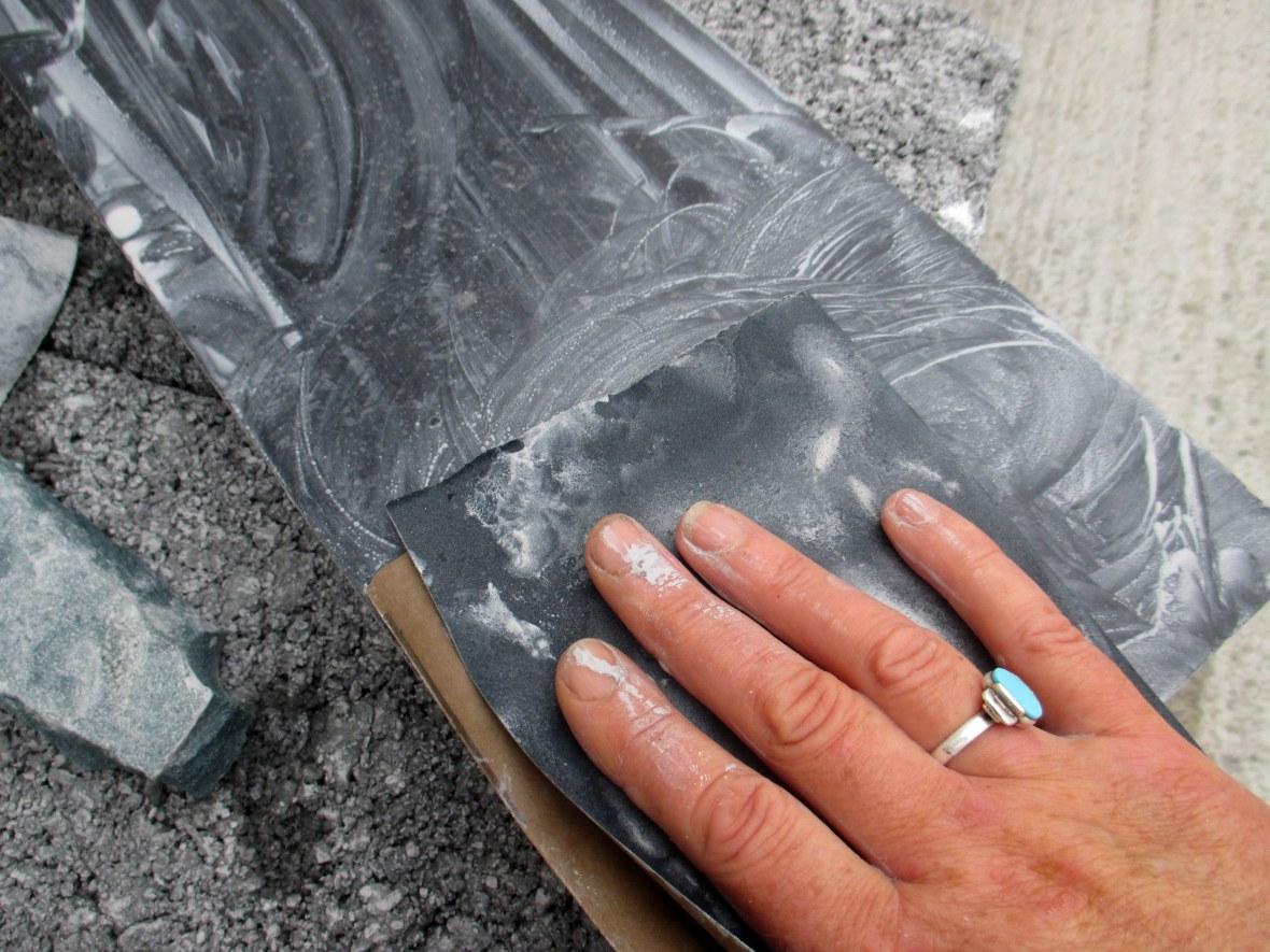 polishing stone