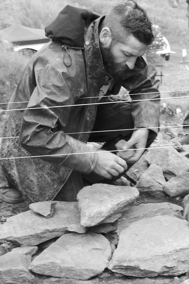 Paul Phaid Cunningham - highly skilled with his native schist