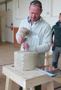 Victor Daly from Cork teaches scuplture